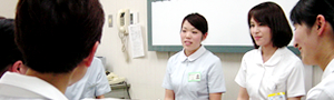 看護職員の教育についてイメージ